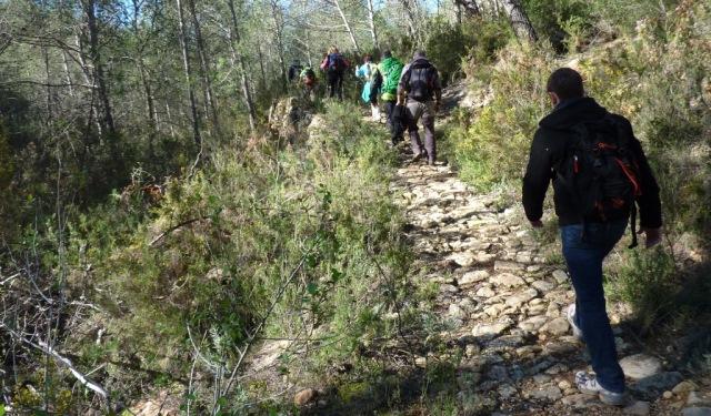 antiguo camino de herradura. Un patrimonio a conservar